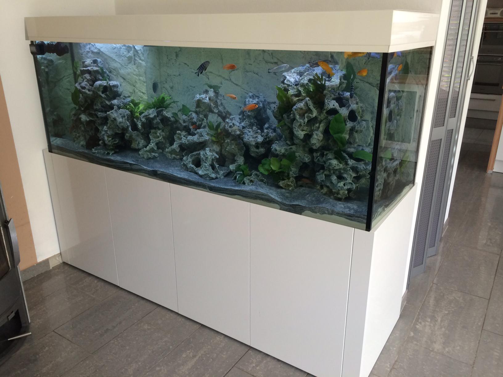 tab aquarium kombination mit beleuchtung schrank aquarium 200x60x60 cm 720l glas 12mm. Black Bedroom Furniture Sets. Home Design Ideas